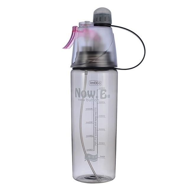 Drinking And Misting Sports Water Bottle