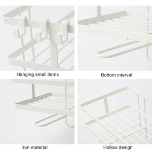 Bathroom Storage Shelves Over The Toilet Drain Rack Organizer Shelf
