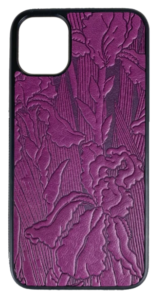 Iris Leather iPhone Case