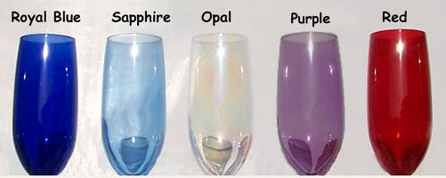 Color options for the Celtic Heart Flutes
