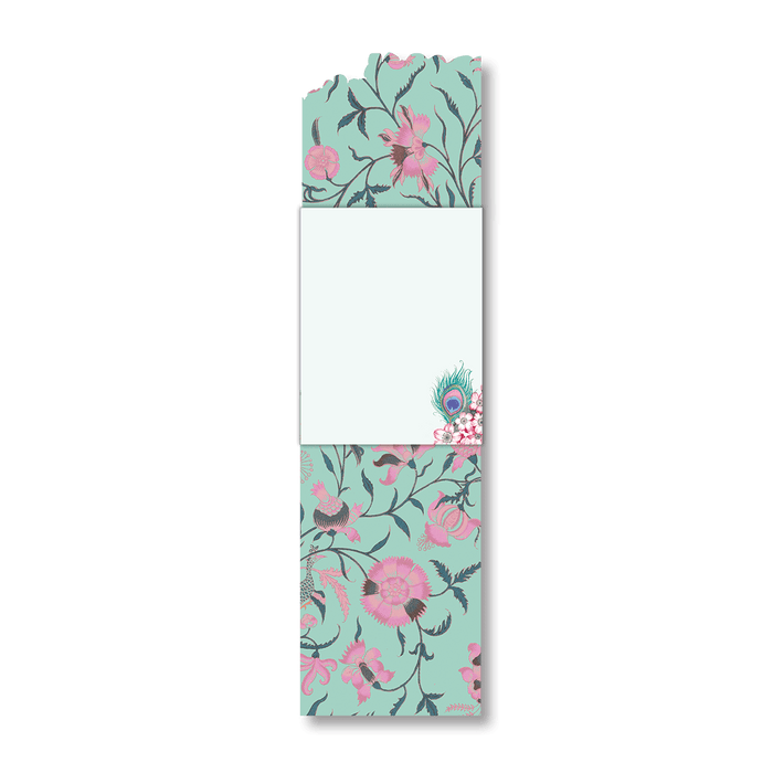 Cherry Blossom Peacock Pocket Note Pad