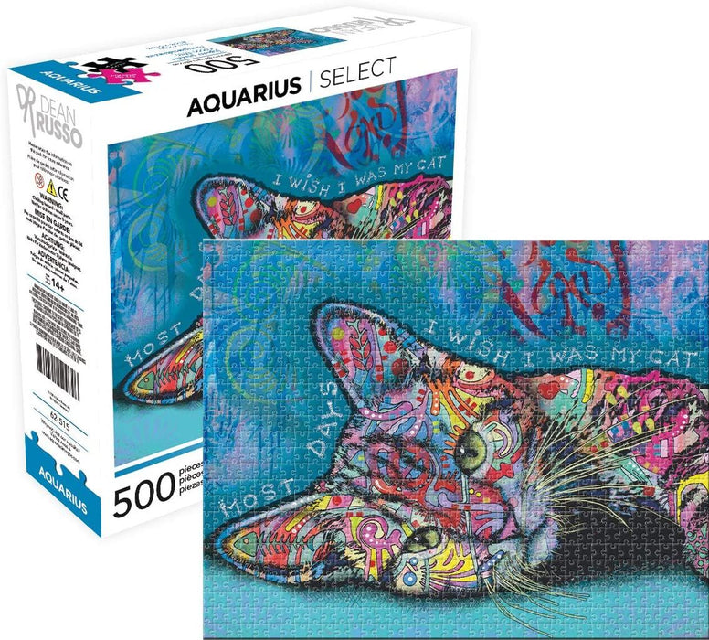 Dean Russo Cat II Jigsaw Puzzle (500 Pieces)