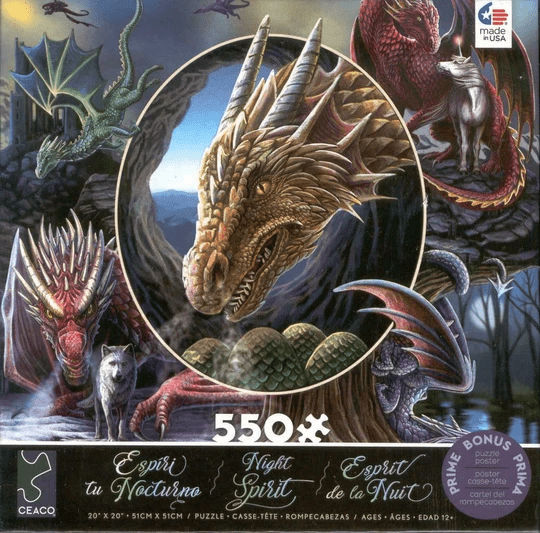 Dragon Montage Jigsaw Puzzle (550 Pieces)
