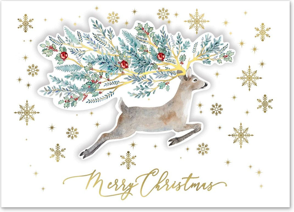 Forest Deer Christmas Cards