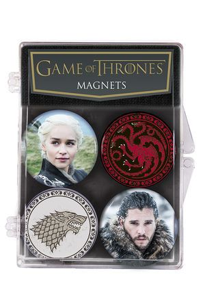 Game of Thrones Jon & Daenerys Magnet Set