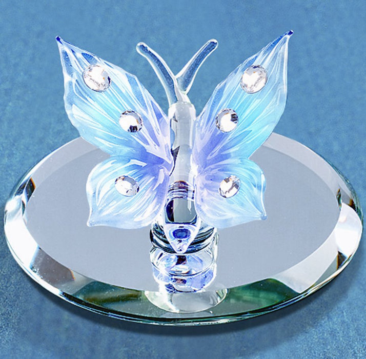 Glass Jeweled Butterfly