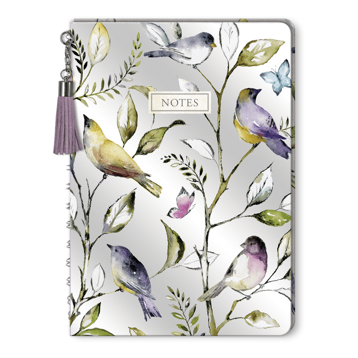 Lilac & Sage Tasseled Journal