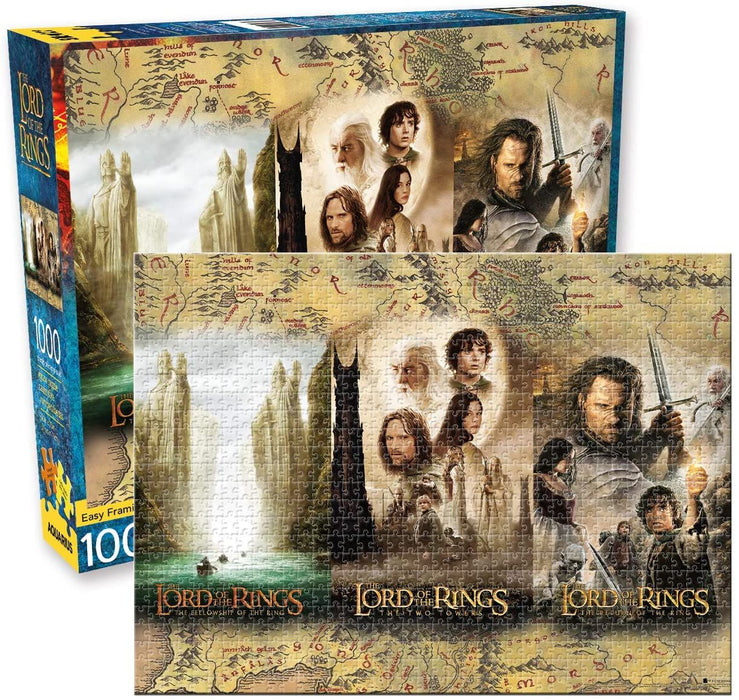 Lord of the Rings Triptych Puzzle (1000 Pieces)