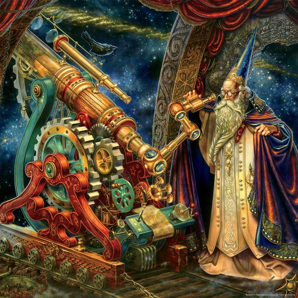 The Astronomer Jigsaw Puzzle (750 Pieces)