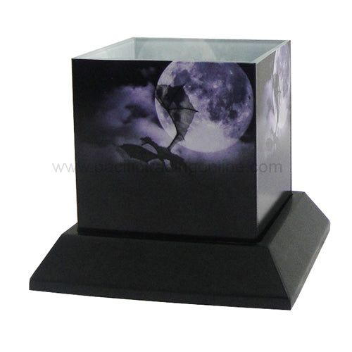 The Voyage Dragon Candle Silhouettes