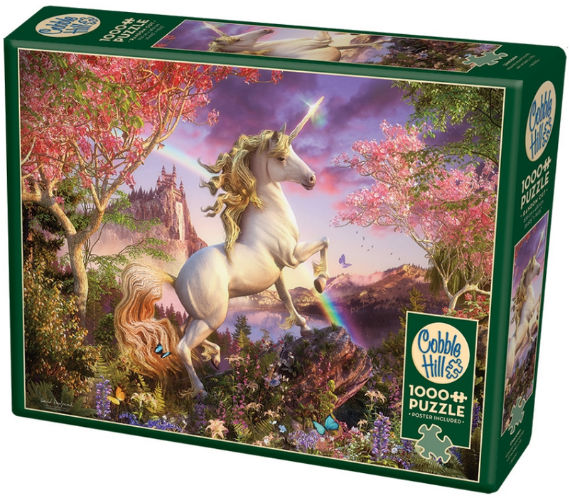 Rainbow & Unicorn Jigsaw Puzzle (1000 Pcs)