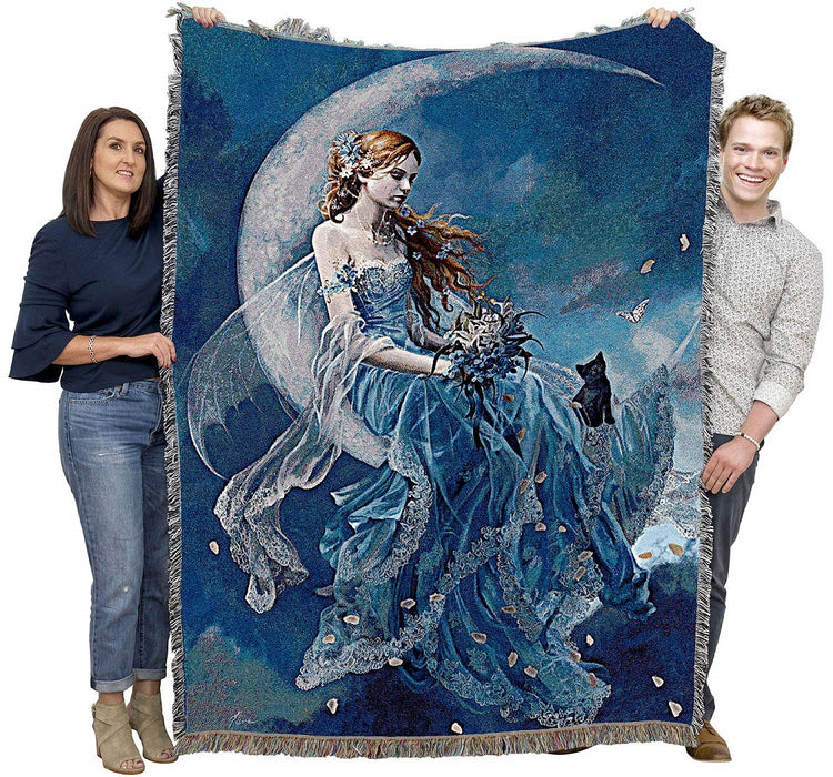 Wind Moon Fairy Tapestry Blanket