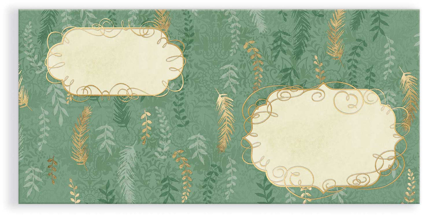 Winter Greens Holiday Card Trio Set