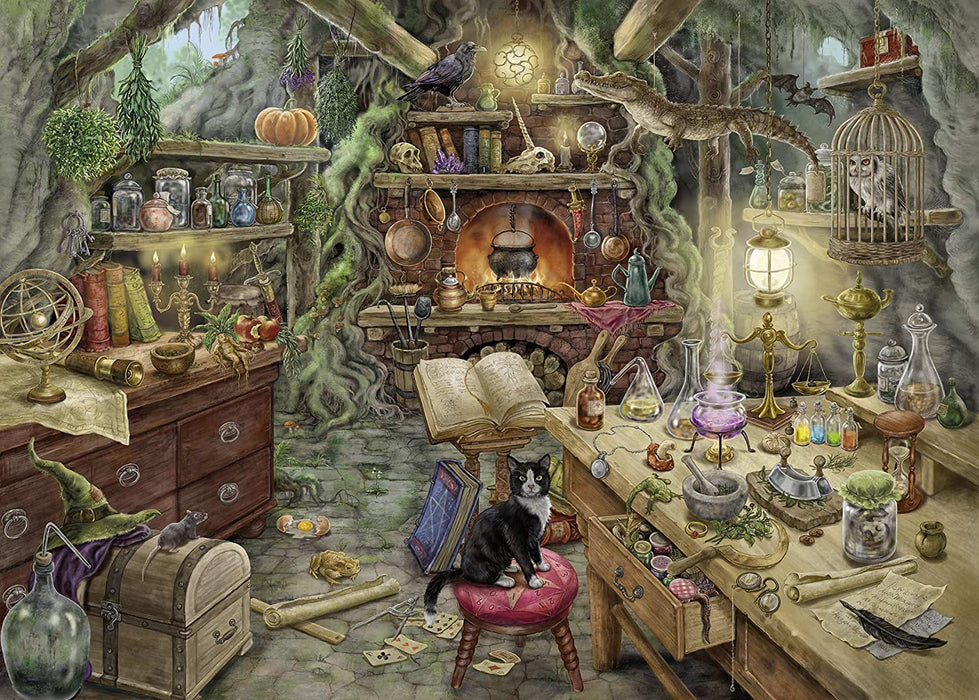 The Witch's Kitchen Escape Room Puzzle (759 Pieces)