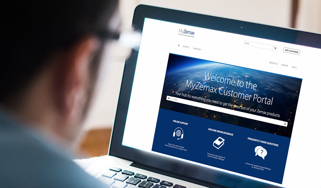 Introducing MyZemax: our new customer portal