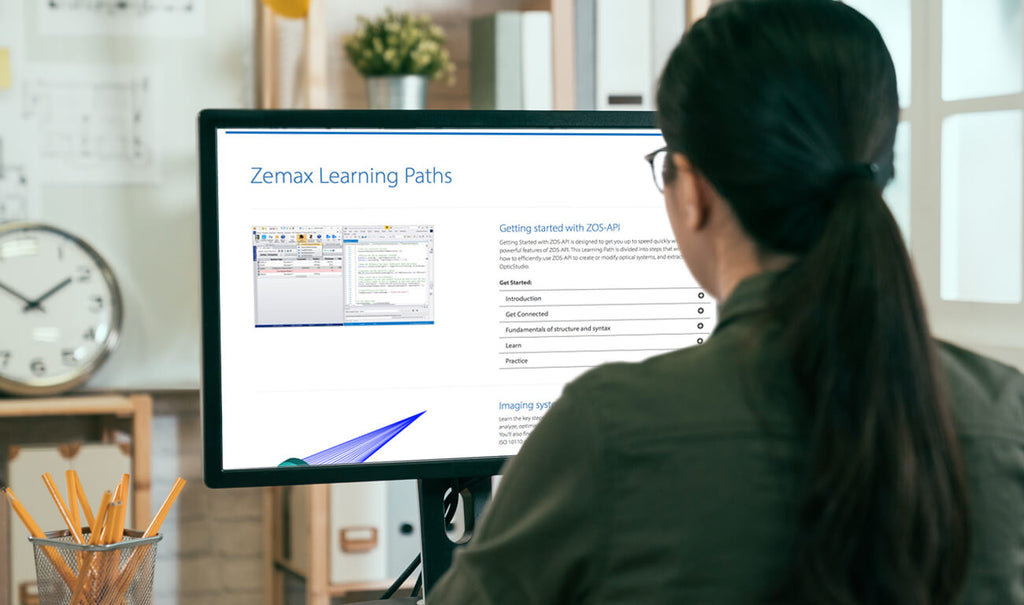 Zemax Introduces Optical Design Software Learning Paths
