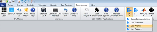 Create a User Analysis in C#