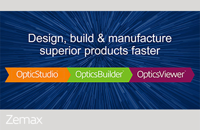 Design for Manufacturability with the Zemax Product Suite