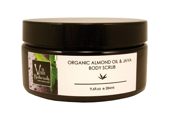 Organic Almond Oil & Java Body Scrub