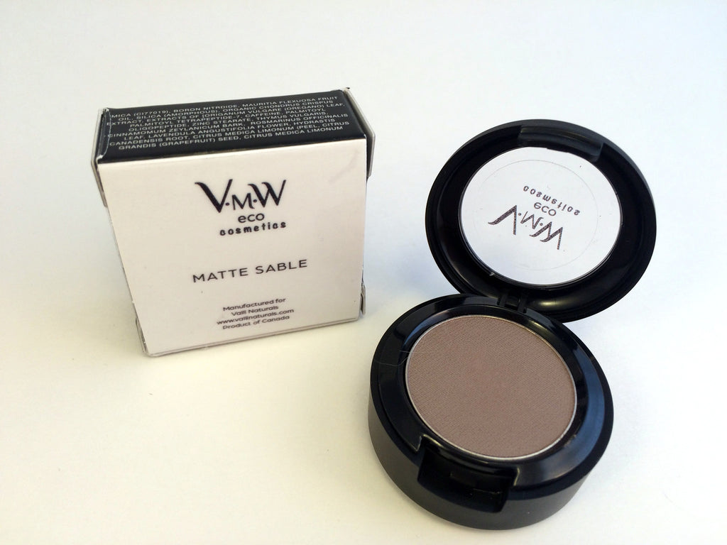 Mineral Eye Pressed Color ~ Matte Sable