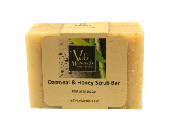 Oatmeal & Honey Scrub Bar