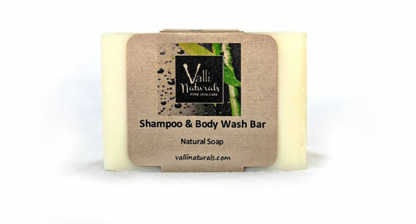 Shampoo & Body Wash Bar
