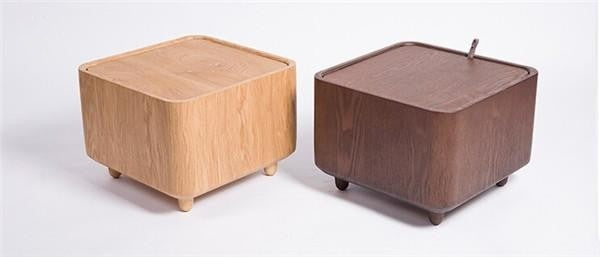 Multi functional Wooden Solid Frame Foot Rest Ottoman