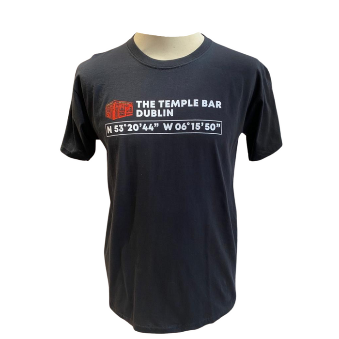 Temple Bar Coordinates T-Shirt