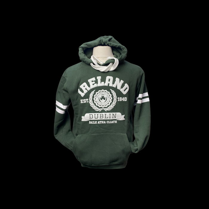 Ireland - Dublin Hoodie - Bottle Green