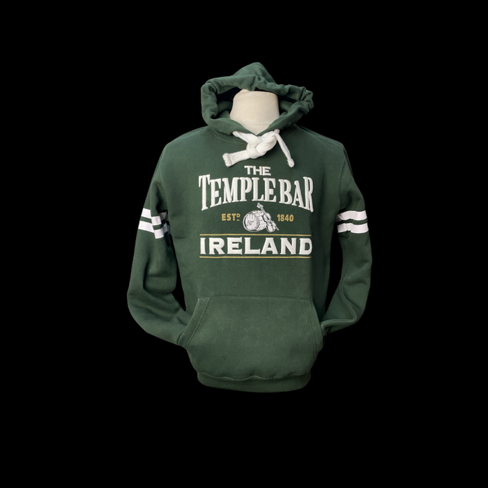 The Temple Bar Barrell Hoodie - Bottle Green