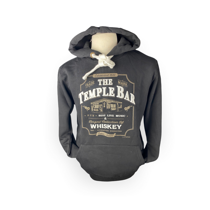 The Temple Bar Official Hoodie - Black
