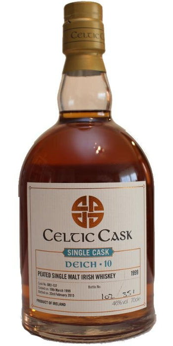 Celtic Cask Deich Peated Single Malt