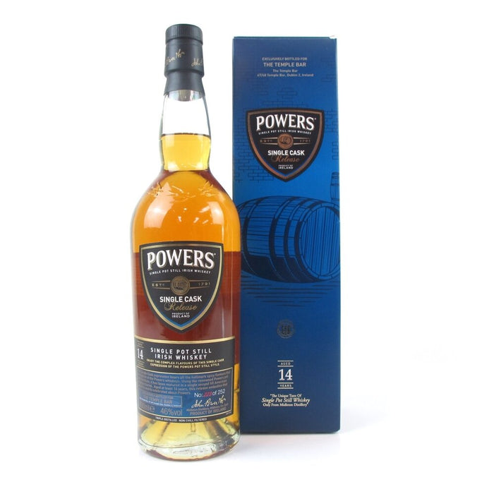 Temple Bar Single Powers Cask 14 Year Old
