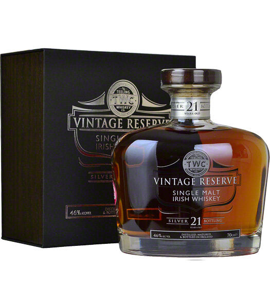 Teeling Vintage Reserve Single Malt -  21 Year Old