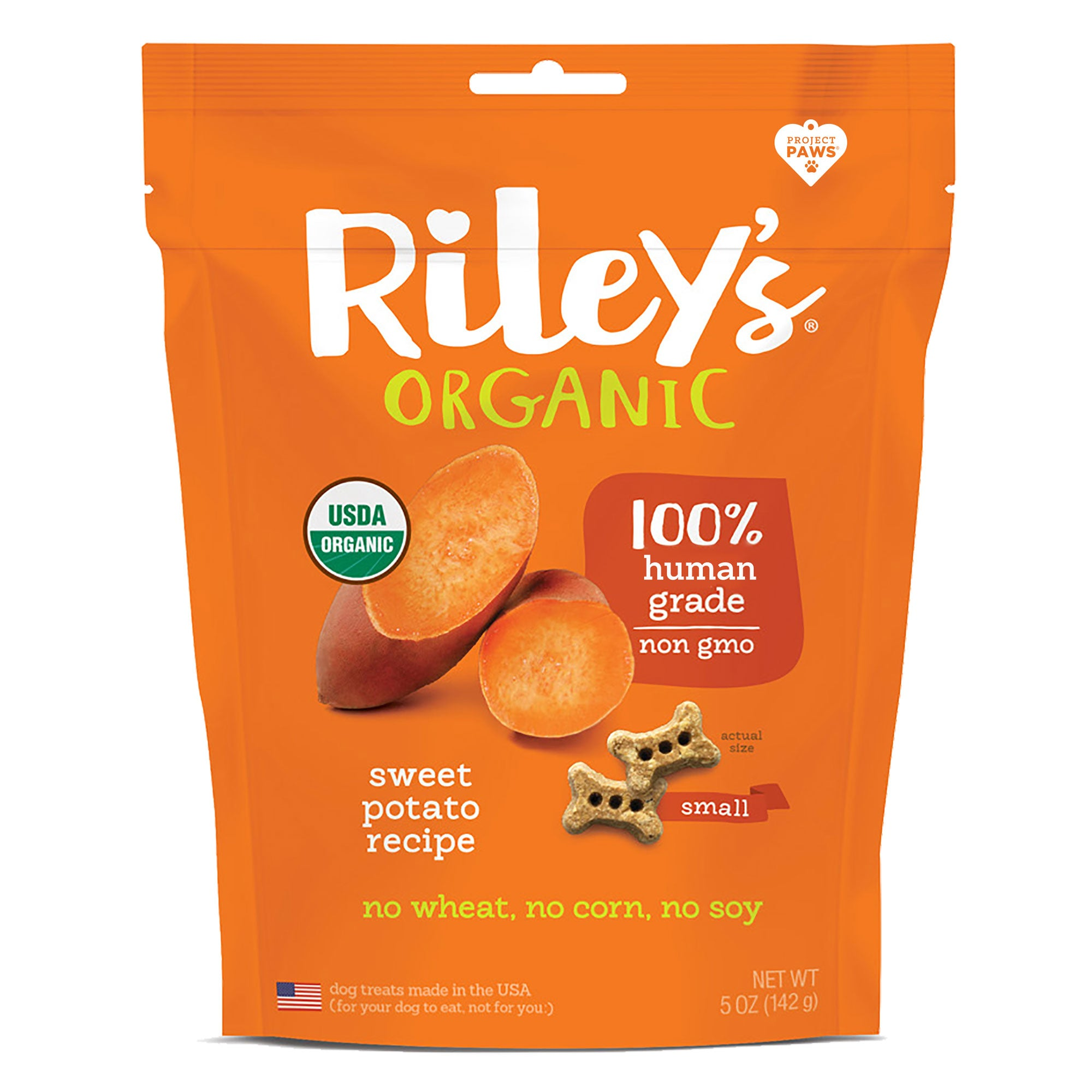Riley's Organic Sweet Potato Baked Biscuits - 5oz