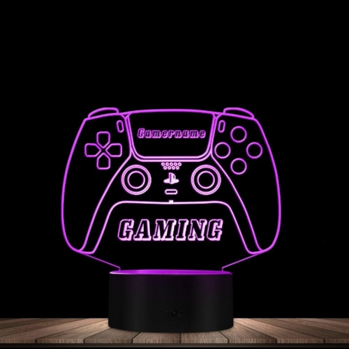 Personalized Game Controller Joystick Night Light