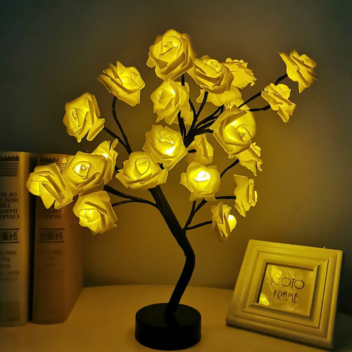 Nordic Handmade Rose Tree Lamp