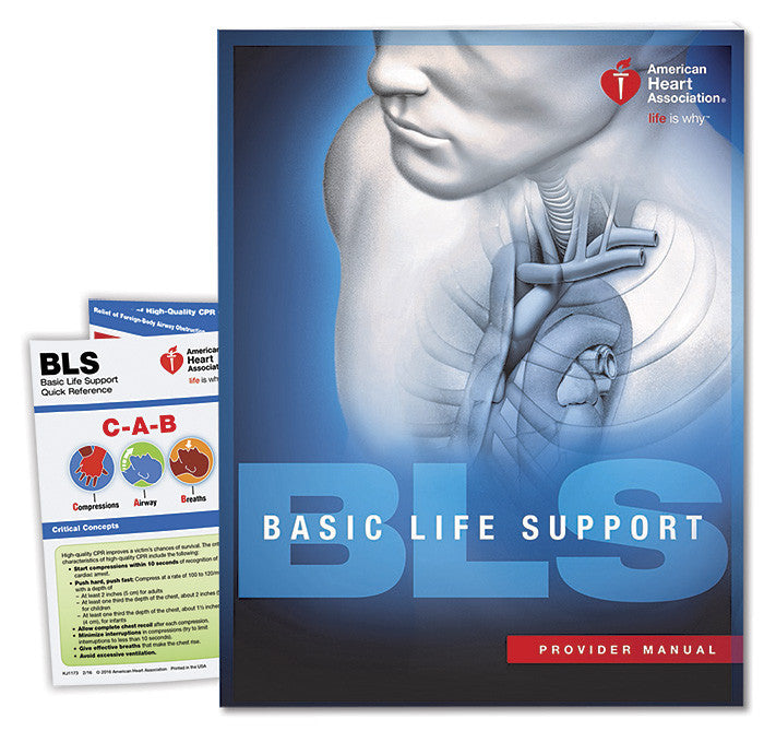 basic life support bls provider manual 15 1010 safety nj rh safetynj com basic life support manual 2015 basic life support manual american heart association