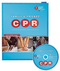 Family & Friends® CPR DVD With Facilitator Guide 15-1017