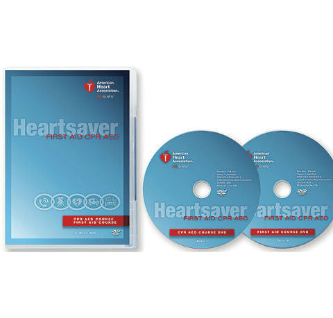 Heartsaver® First Aid CPR AED DVD Set (15-1019)