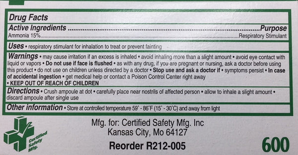 Certified Safety Miscellanous