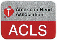 AHA ACLS Lapel Pin (Pack of 10) (90-1532)