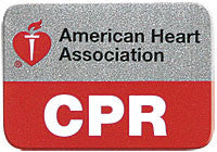 AHA CPR Lapel Pin (Pack of 10) (90-1535)