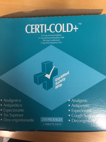 Certi-Cold Plus (504-071) 25/Box 2 per package