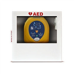 Heart Smart AED Wall Cabinet - Fits all AED's  (HST-CAB01)