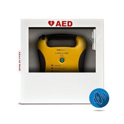 HeartSmart AED Wall Cabinet (with standard alarm) (HST-CAB02-(D))