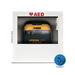 HeartSmart AED Wall Cabinet (with standard alarm) (HST-CAB02-(PC))