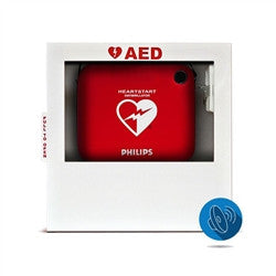 Heart Smart AED Wall Cabinet FITS ALL AED'S (with standard alarm) (HST-CAB02)