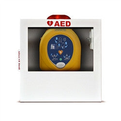 Heart Smart AED Wall Cabinet (w/Alarm & Strobe) FITS ALL AED'S (HST-CAB03)