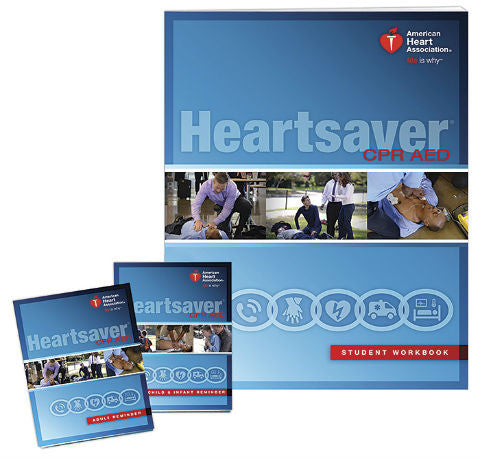 Heartsaver® CPR AED Student Workbook (15-1020)